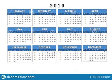 calendar    notes  office work stock illustration illustration  planning week