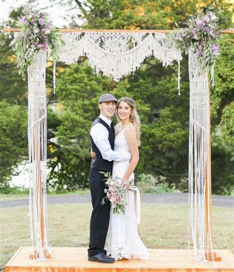 Wedding Arch Backdrop by 33 Boho Wedding Arches Altars And Backdrops To Rock