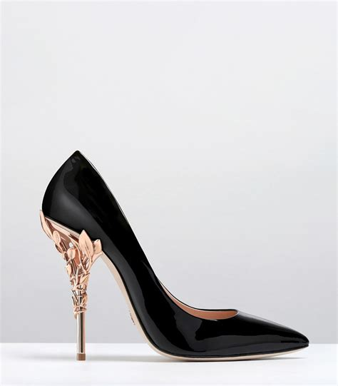 Heels And Black by Black Heels With Gold Heel Fs Heel