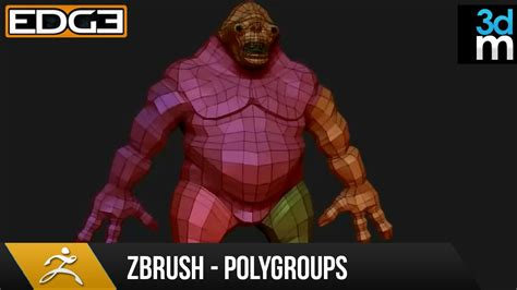 tutorial zbrush for beginner zbrush tutorial polygroups for beginners hd by 3dmotive