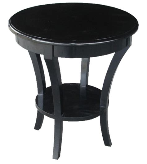 black round accent table small black tables black accent table black round end