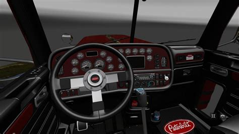 peterbilt 389 interior lights peterbilt 389 interior v2 0 for ats 187 truck