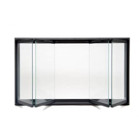 factory prefab fireplace glass doors fireplace doors