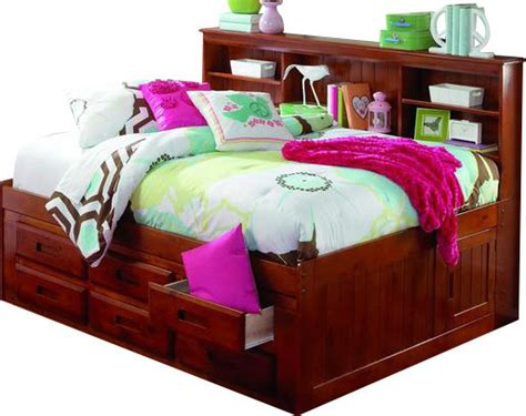 Bookcase Daybed With Drawers by Custom Furniture Daybeds With Bookcase Headboard