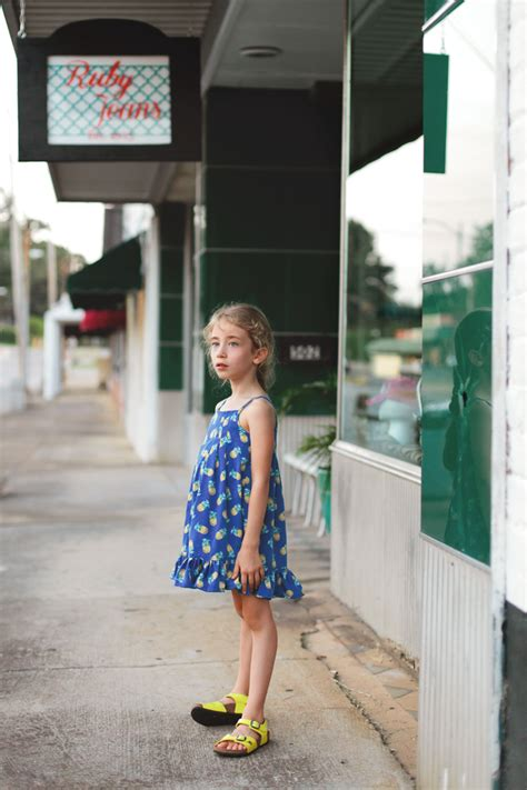 Dress Lp Pineaplle 444 7 pineapple persimmon dress willow co patterns lbg studio