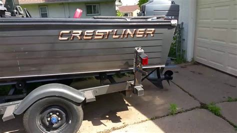 crestliner boats youtube 1968 crestliner aluminum boat youtube