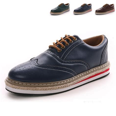 new 2014 vintage preppy style oxford shoes high grade
