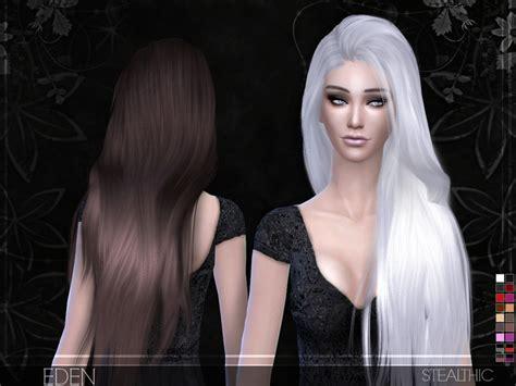 sims 4 hair the sims resource stealthic eden female hair