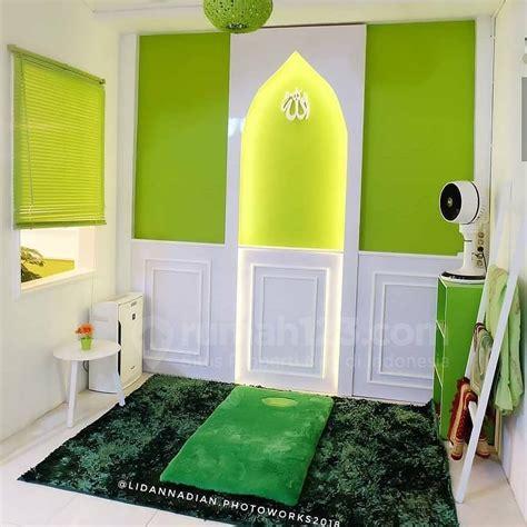 gambar mushola minimalis  rumah  bikin