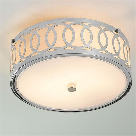 Flush Mount Bedroom Ceiling Lights Small Interlocking Rings Flush Mount Ceiling Light