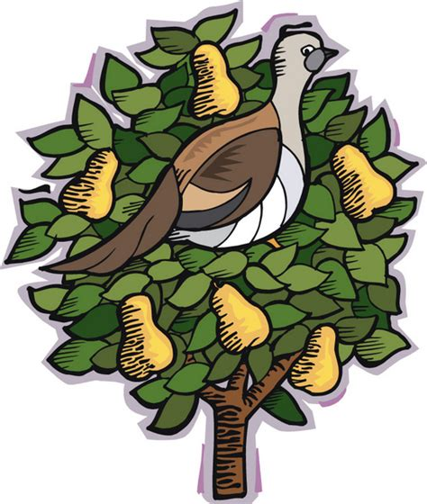 a 10eighty xmas day 1 a partridge in a pear tree the