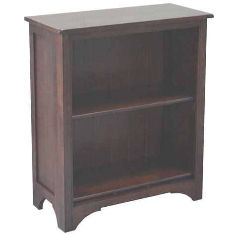 2 Shelf Bookcase Espresso shop allen roth loren espresso 32 13 in 2 shelf bookcase