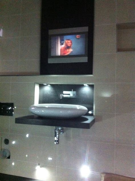 How To Install Tv In Bathroom by Luxury Bathroom Electrical Installation With Bathroom Safe