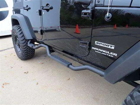 Jeep Wrangler Running Boards 2016 Jeep Wrangler Unlimited Nerf Bars Running Boards
