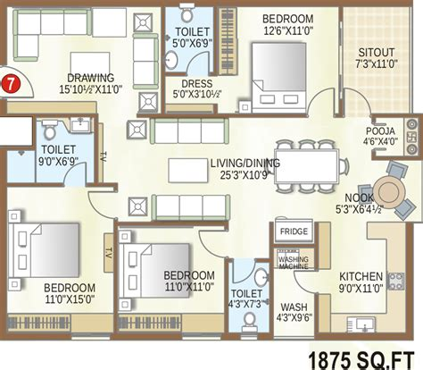castle green floor plan my mypi green castle apartments in kompally hyderabad price location map floor plan