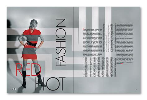 design magazine clothing bfa thesis layout design by adrienne jensen at coroflot com
