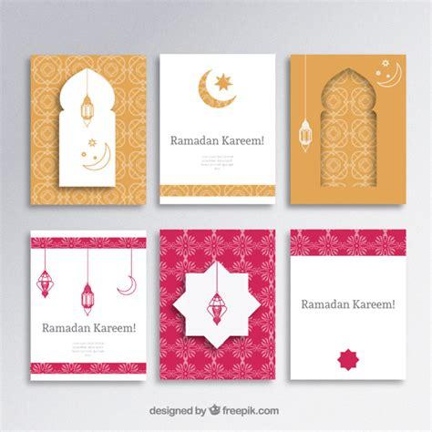 iftar menu card template ramadan kareem brochures vector free