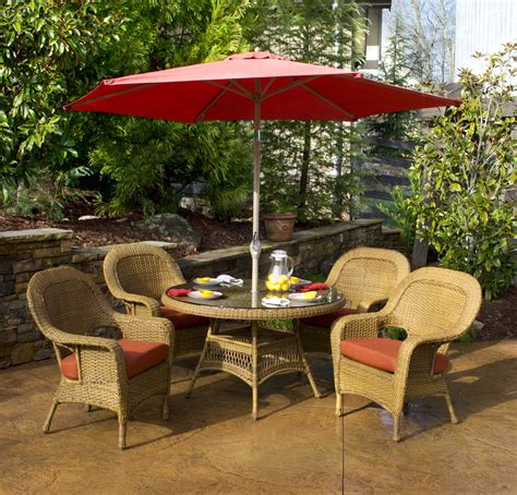 Contemporary Patio Outdoor with Target Umbrella Stand, and