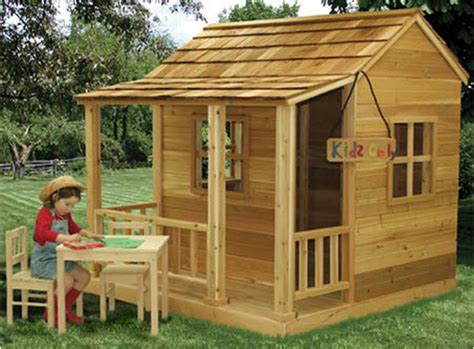 cedar playhouse outdoor playhouses by