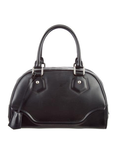 Louis Vuitton Epi Leather Bowling Montaigne Pm by Louis Vuitton Epi Bowling Montaigne Pm Handbags