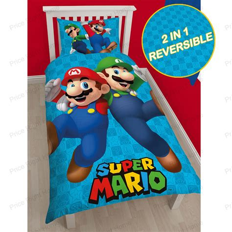 mario brothers bedding sets official nintendo mario brothers bedding duvet cover