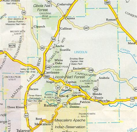 where is lincoln new mexico lincoln county map new mexico new mexico hotels