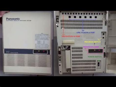 Pabx Panasonic Kx Tes824 168 panasonic kx t61610b doovi