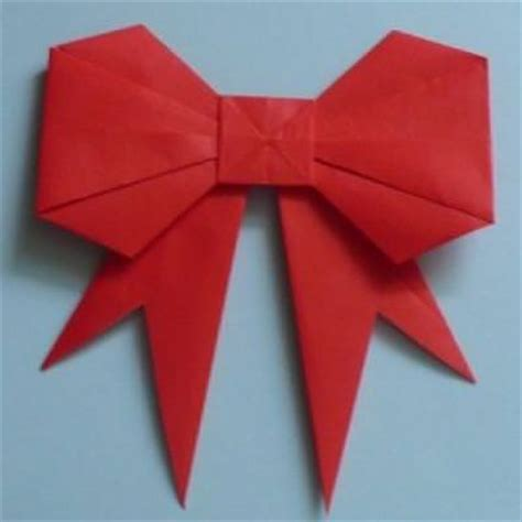 Easy Origami Bow - origami paper bow tutorial simple origami tip junkie
