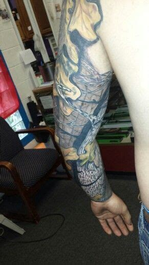 realtree tattoo real tree camo sleeve tattoos camouflage