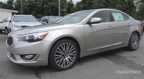 Kia Cadenza Luxury Package 2014 Kia Cadenza Technology Package Walkaround Autoevolution