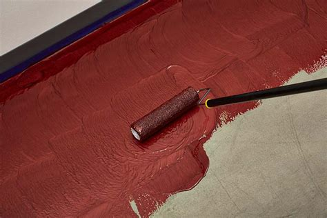 Garage Floor Paint Roller Rocksolid Garage Floor Coating Creates Ready Space
