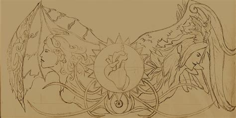 heaven vs hell tattoo designs heaven and hell by rationalbeast on deviantart