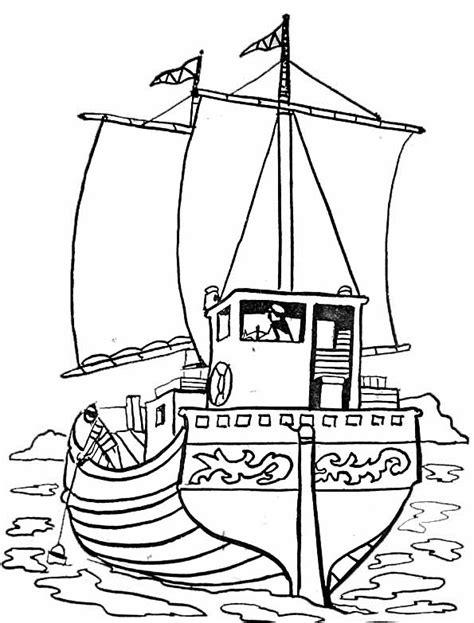 dessin bateaux facile dessin 195 colorier bateau facile