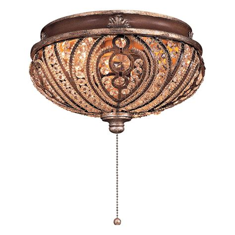 bling ceiling fan light kits minka aire k9500 2 light universal bowl fan light kit