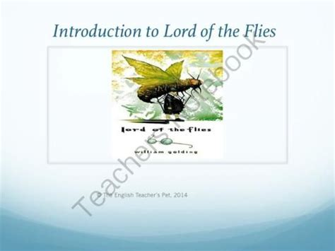 key themes in lord of the flies lord of the flies introduction powerpoint from the english