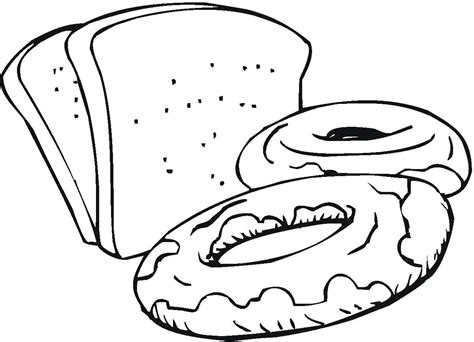 bread drawing clipart best