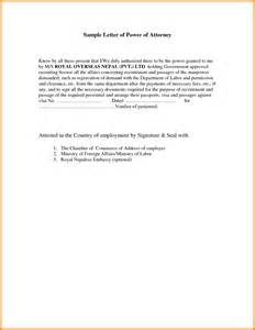 business power of attorney template how to write a power of attorney letter anuvrat info