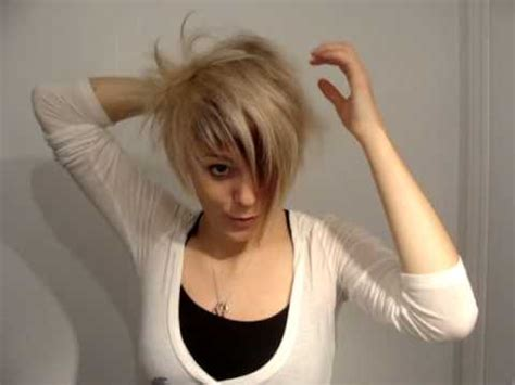 plaiting and styling pixie cuts styling short hair youtube