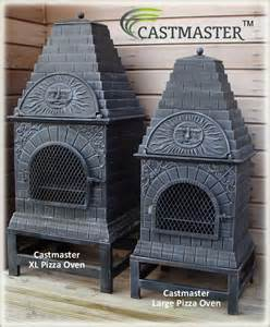 Cast Iron Chiminea Pizza Oven Buy The Castmaster Versace Style Cast Iron Outdoor Pizza