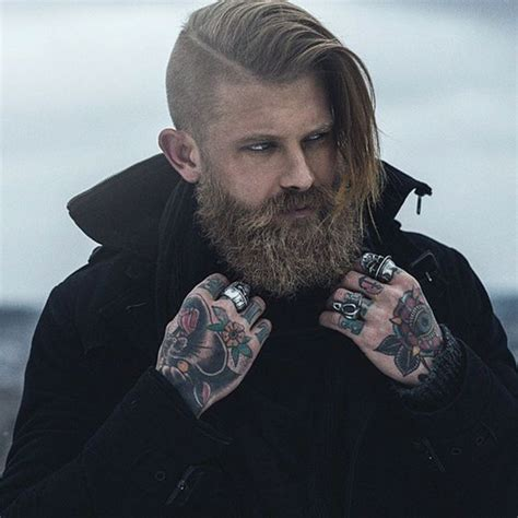beard and undercut hairstyles undercut hairstyles men world trends fashion
