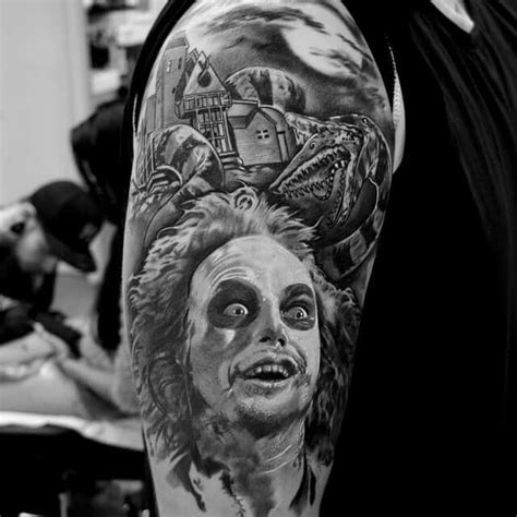 Kaos Performance Unleashed Seuseuh Beungeut beetlejuice tattoos beetlejuice beetlejuice and