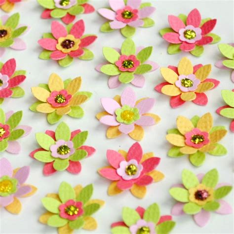 Handmade Flowers With Paper - discover and save creative ideas
