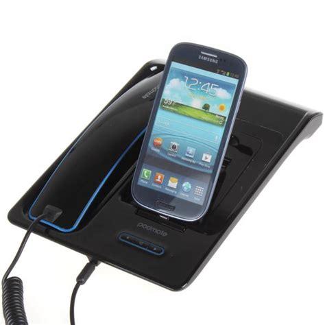 hands free desk phone padmate handheld hands free bluetooth desktop telephone