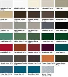 color of tin colors snap loc 24 best buy metals