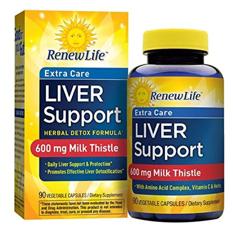 How To Detox Liver With Milk Thistle by From Usa Renew Liver Support Care Milk
