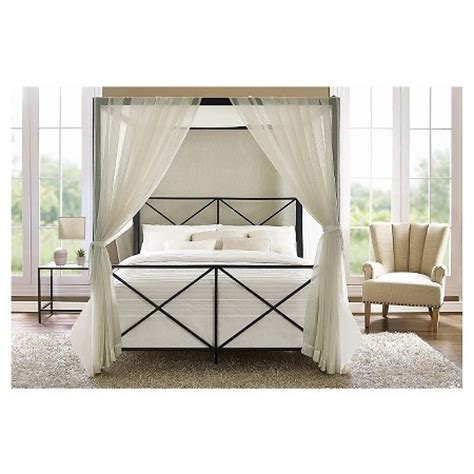 target canopy bed rosedale metal canopy queen bed dorel home product target