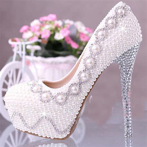 aliexpress buy 2015 ecru white color pearl bridal