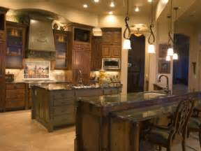 stylish tuscan kitchen design