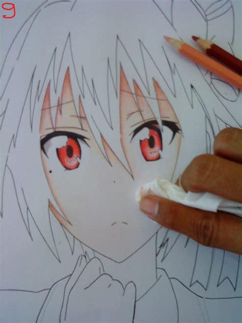 tutorial gambar dengan pensil teknik mewarnai gambar wajah dengan pensil warna