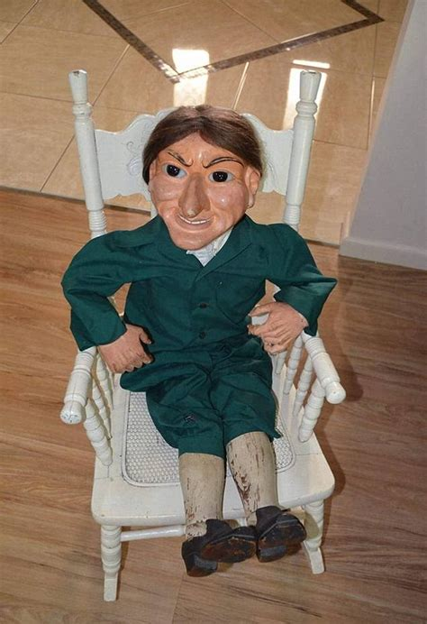 haunted doll lad bible terrifying doll that going on display in australia